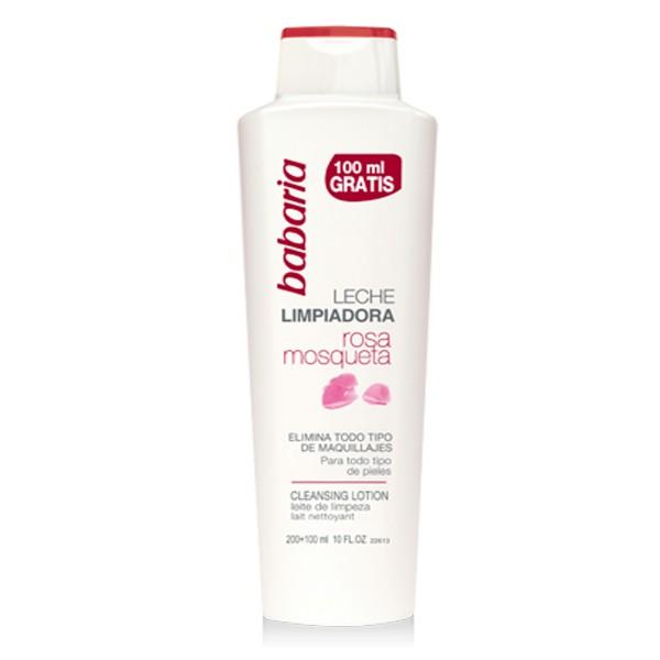 Babaria rosa mosqueta leche limpiadora todo tipo de pieles 300ml