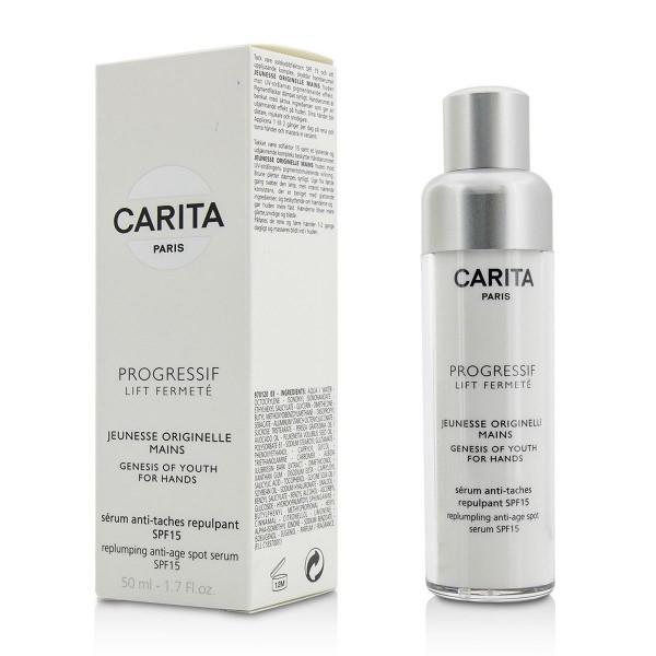 Carita progressif lift fermete genesis of youth mains serum spf15 50ml