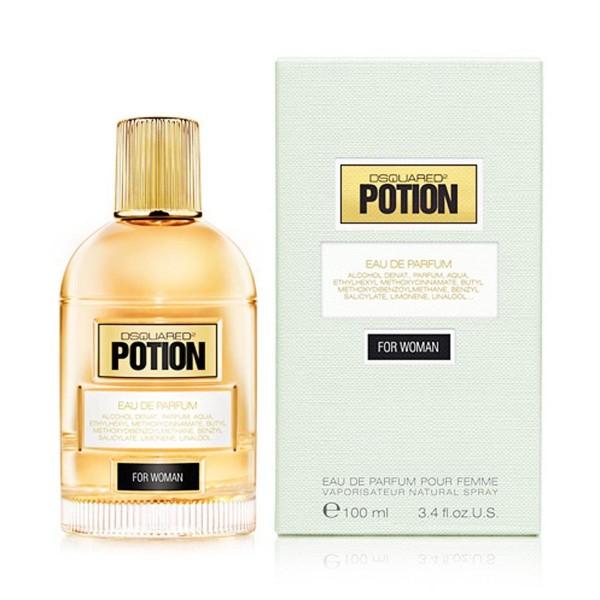 Dsquared potion eau de parfum for woman 30ml vaporizador