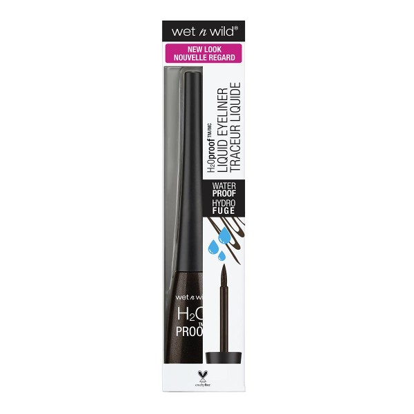 Wetn wild h20 proof eyeliner black brown