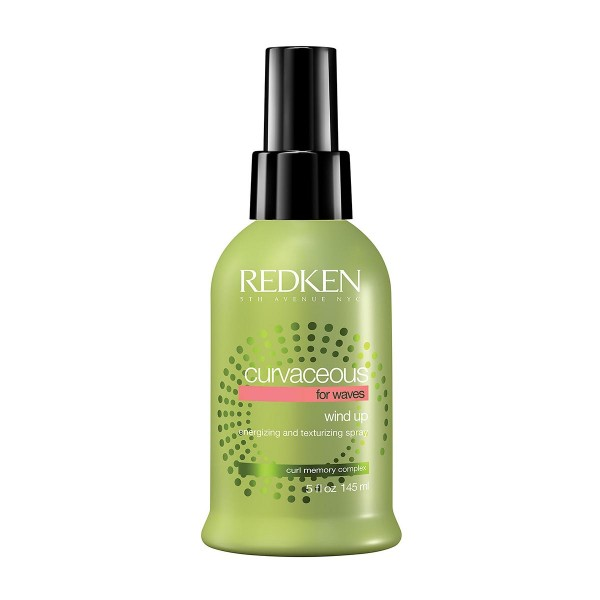 Redken curvaceous wind up spray energizante cabello ondulado 145ml vaporizador