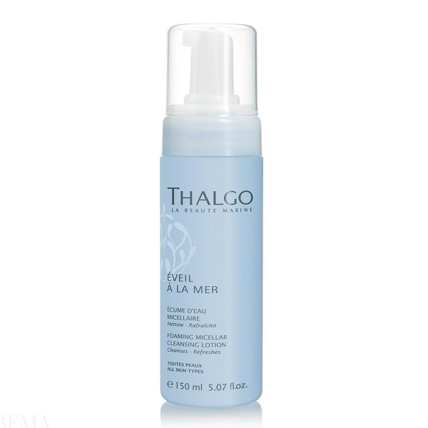 Thalgo eveil a la mer foaming micellar cleansing lotion 150ml