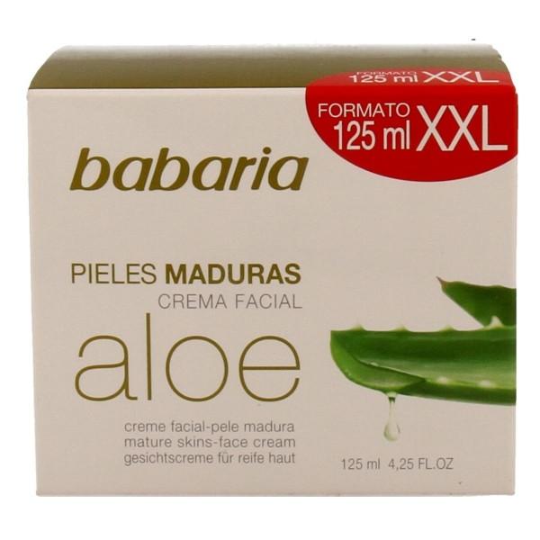 Babaria aloe crema facial pieles maduras 125ml