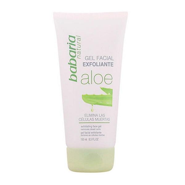 Babaria aloe gel facial exfoliante 150ml