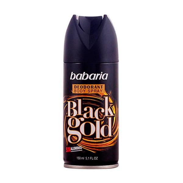 Babaria black gold desodorante 150ml vaporizador