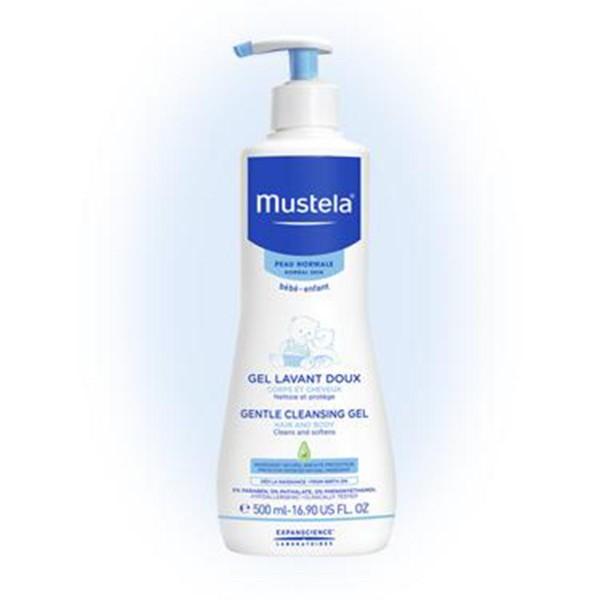 Mustela bebe gel corporal y cabello piel normal 200ml