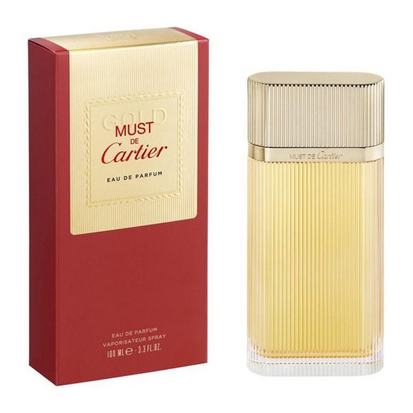 Cartier must de cartier gold eau de parfum 50ml vaporizador