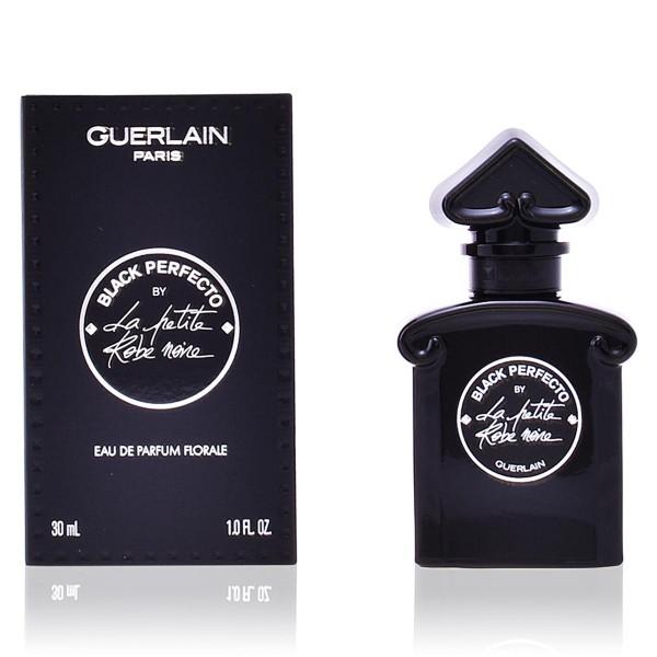 Guerlain la petite robe noir eau de parfum florale black perfecto 30ml vaporizador