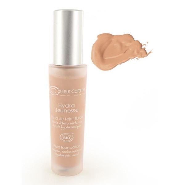 Couleur caramel hydra jeunesse fluid foundation 24 sand 30ml