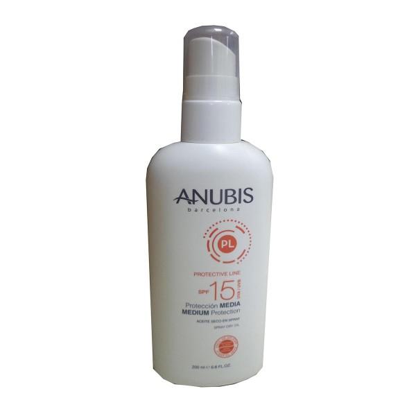 Anubis protective line spray spf15 200ml vaporizador