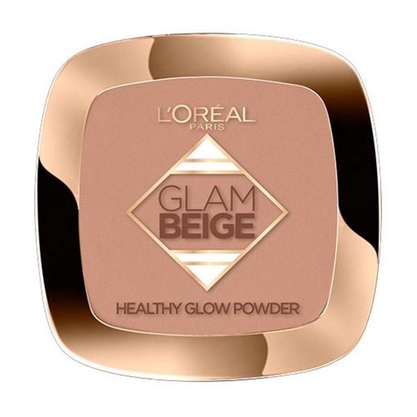Loreal glam beige healthy glow polvos 30 medium light