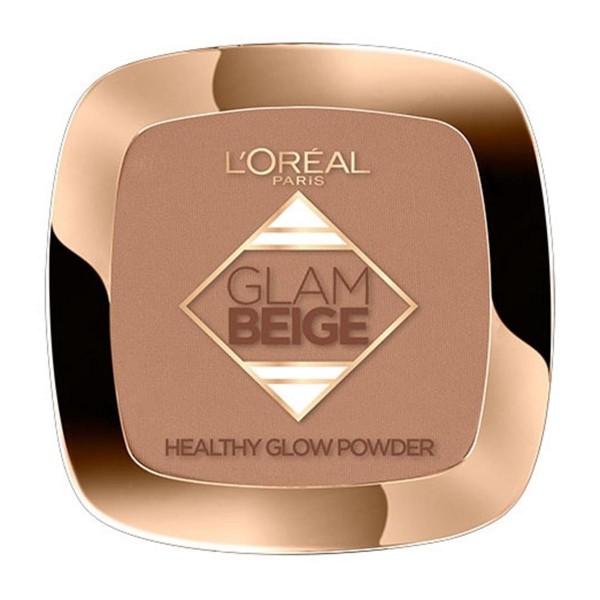 Loreal glam beige healthy glow polvos 40 medium dark