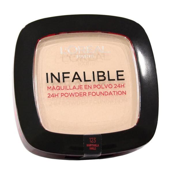 Loreal infalible 24h maquillaje en polvo 123 vanille