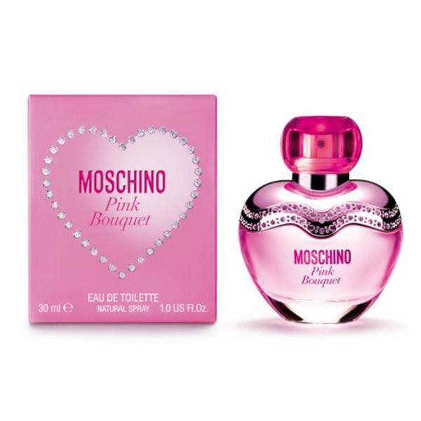 Moschino pink bouquet eau de toilette 30ml vaporizador