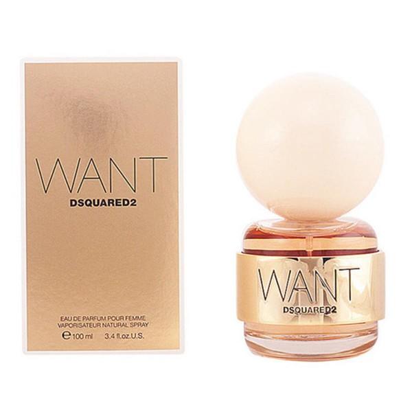 Dsquared want dsquared2 eau de parfum 100ml vaporizador