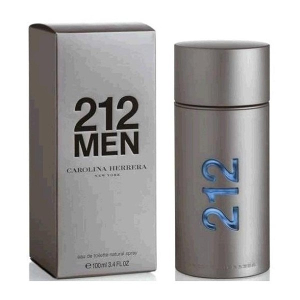 Carolina herrera 212 men eau de toilette 100ml vaporizador