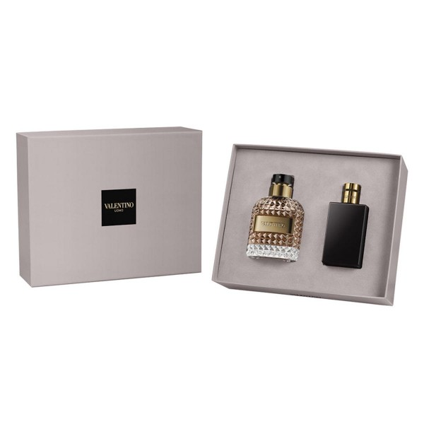 SET Valentino uomo eau de toilette 100ml vaporizador + after shave balsamo 100ml