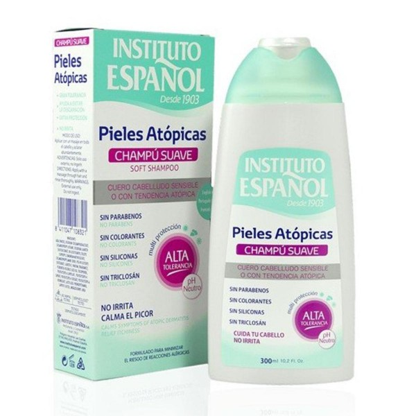 Instituto español pieles atopicas champu 300ml
