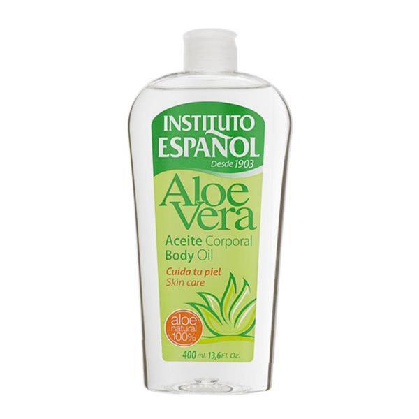 Instituto español aloe vera aceite corporal aceite corporal 400ml
