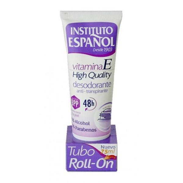 Instituto español vitamina e desodorante anti-transpirante roll-on 75ml