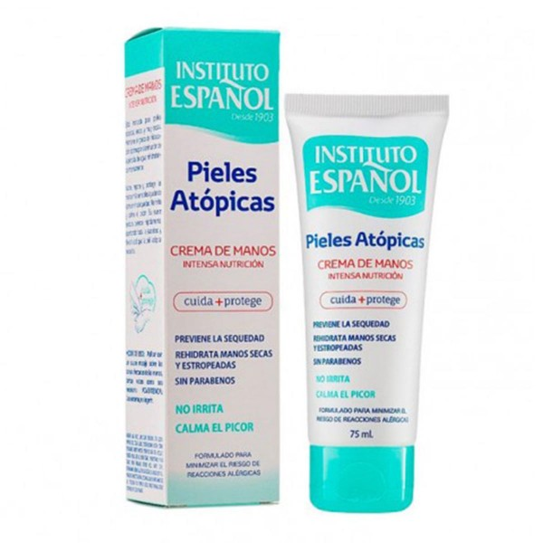 Instituto español pieles atopicas crema de manos intensa nutricion 75ml