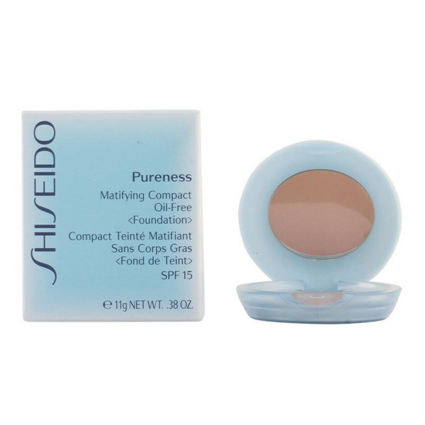 Shiseido pureness matifying compact oil free 40 natural beige