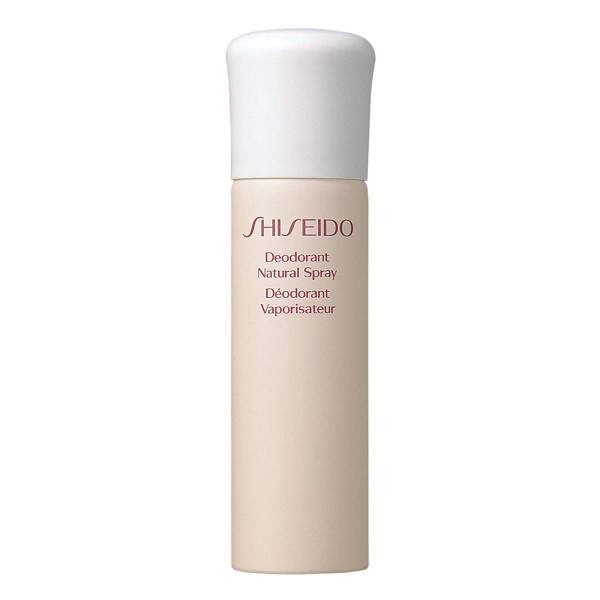 Shiseido natural desodorante spray 100ml vaporizador