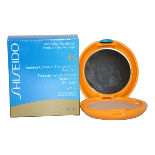 Shiseido tanning spf6 compact foundation natural