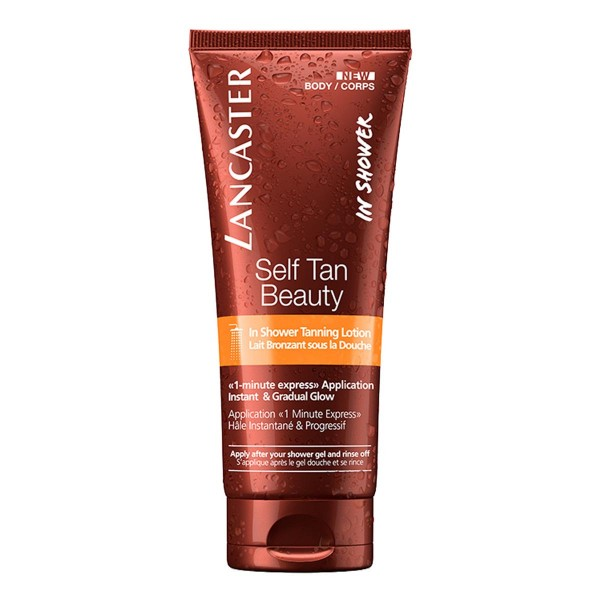 Lancaster self tan beauty tanning lotion in shower 200ml