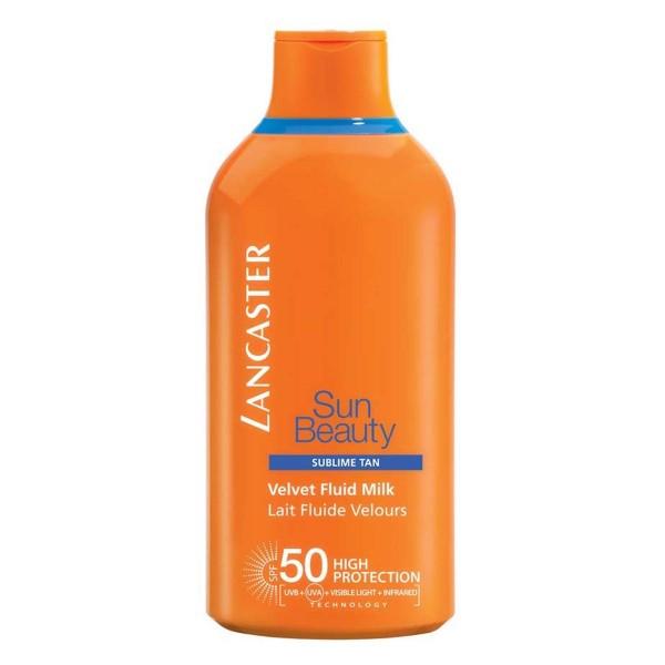 Lancaster sun beauty velvet fluid milk spf50 175ml