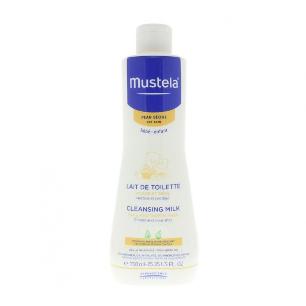 Mustela cleansing leche corporal 750ml
