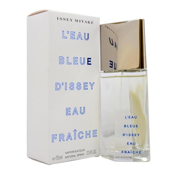 Issey miyake l'eau bleue d'issey eau fraiche eau de toilette 75ml vaporizador