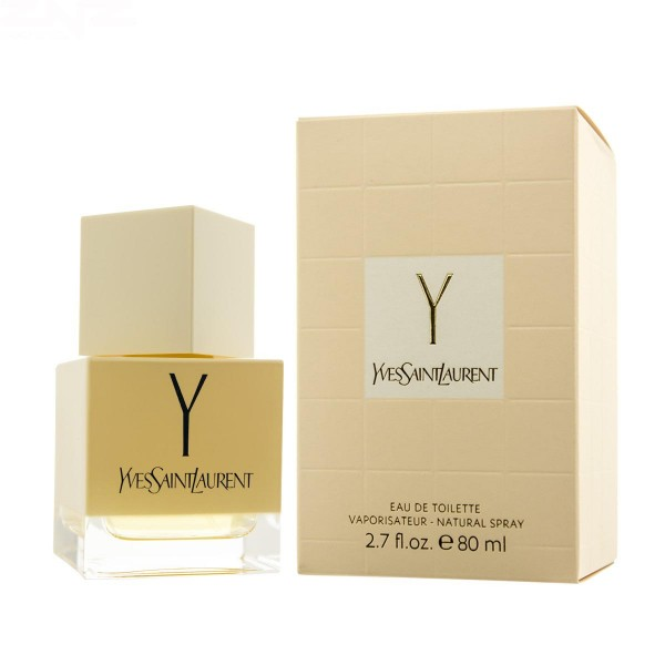 Yves saint laurent y eau de toilette 80ml vaporizador