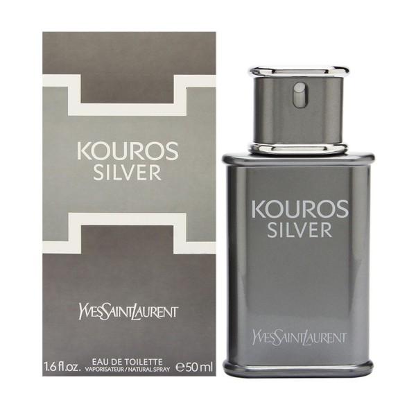 Yves saint laurent kouros silver eau de toilette 50ml vaporizador