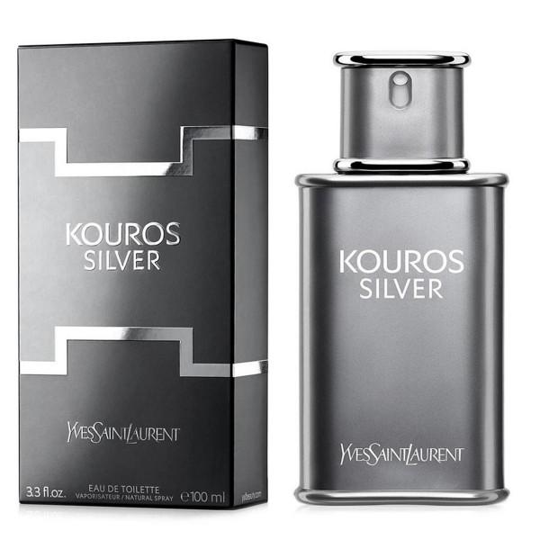 Yves saint laurent kouros silver eau de toilette 100ml vaporizador