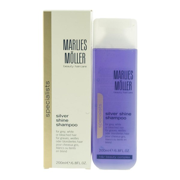 Marlies moller specialists champu cabello gris silver shine 200ml