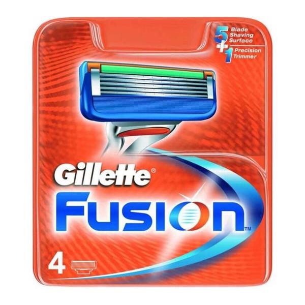 Gillette fusion cargador pack