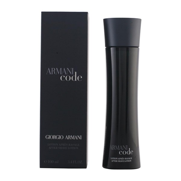 Giorgio armani code after shave locion 100ml