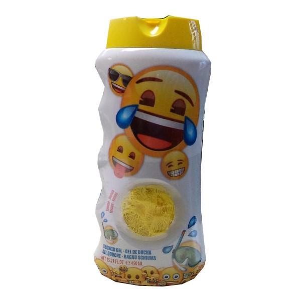 Emoji emoji gel de ducha 450ml vaporizador + esponja 1u