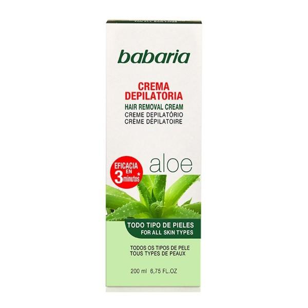 Babaria aloe vera crema depilatoria todo tipo de pieles 200ml