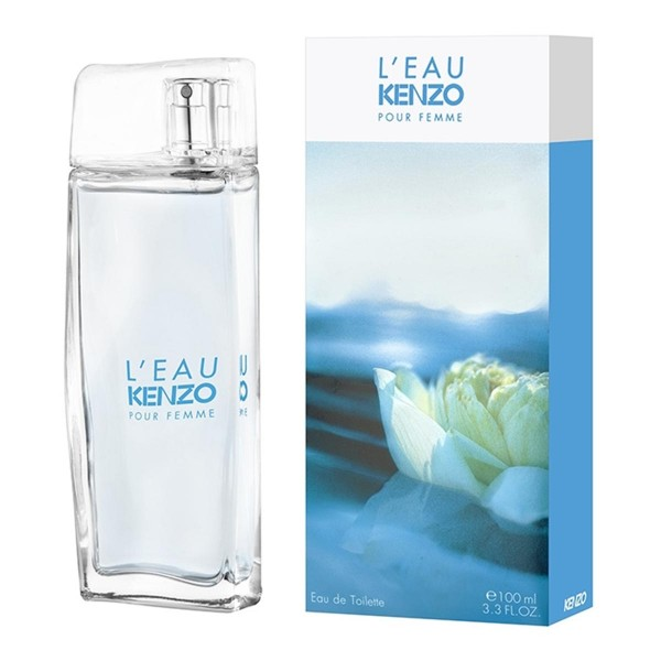 Kenzo l'eau kenzo eau de toilette pour femme 100ml vaporizador