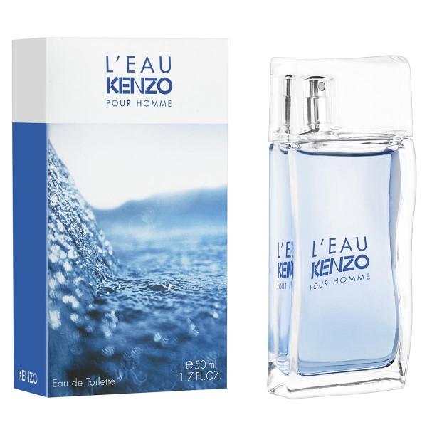 Kenzo l'eau kenzo eau de toilette pour homme 50ml vaporizador