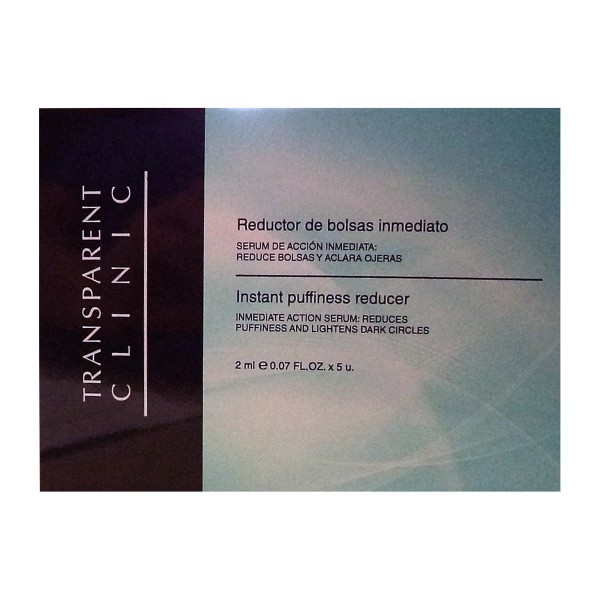 Transparent clinic instant puffiness tratamiento reductor 10ml