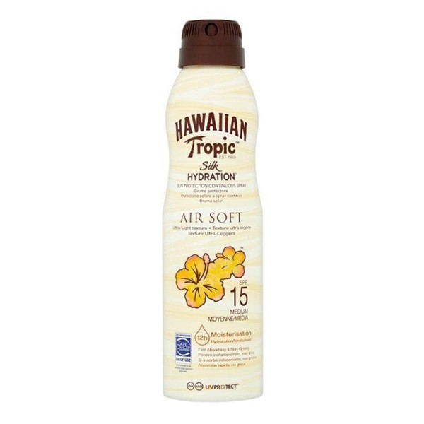 Hawaiian tropic silk hydration air soft brume protective spf15 150ml