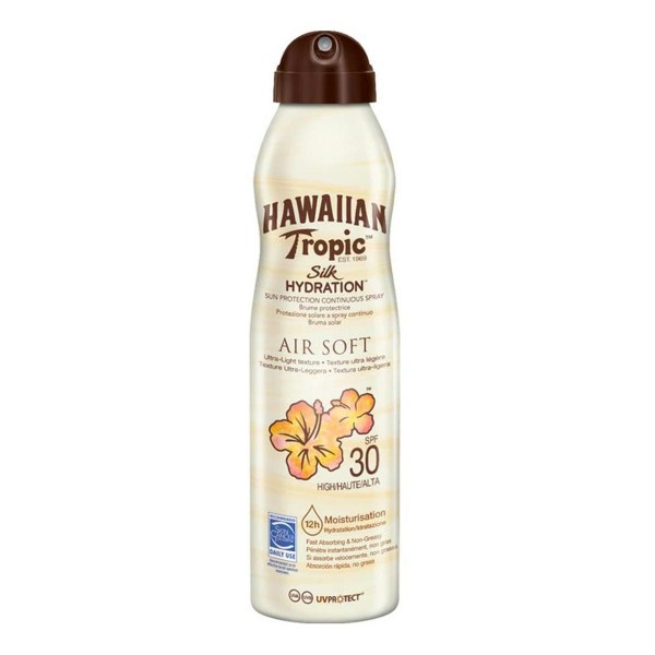 Hawaiian tropic silk hydration air soft brume protective spf30 177ml