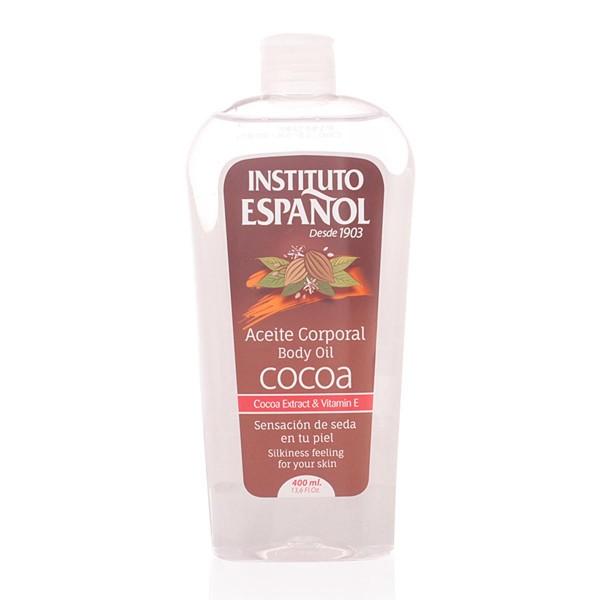 Instituto español cocoa aceite corporal aceite corporal 400ml