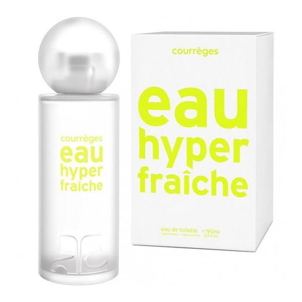 Courreges eau hyper fraiche eau de toilette 50ml vaporizador