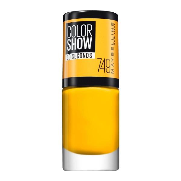 Maybelline color show laca de uñas 749 electric yellow