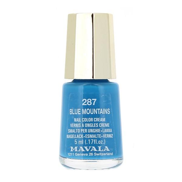 Mavala nail laca de uñas 287 blue montain