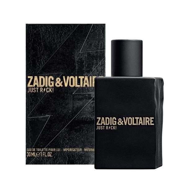 Zadig&voltaire just rock eau de toilette 30ml vaporizador